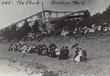 """THE CHUTE, QUEENS PARK"" (1905)"
