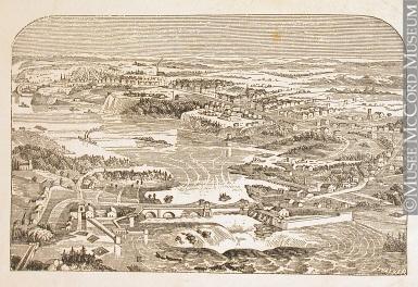 Rivière des Outaouais, chutes de la Chaudière 1850-1885, 19e siècle M930.50.7.515 © Musée McCord