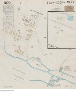Deschènes Quebec, Feuille 200, Hull & Vicinity, Que Plan d'assurance-incendie Goad 1903-1908 Bibliothèque et Archives Canada, No MIKAN 3823774